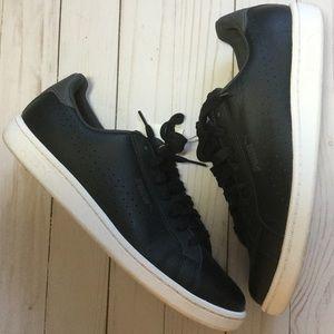 PUMA Black Leather Sneakers
